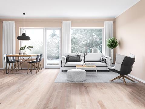 Clean「Modern cozy interior」:スマホ壁紙(18)