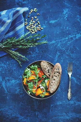 Vegetarian Food「Pumpkin salad」:スマホ壁紙(17)