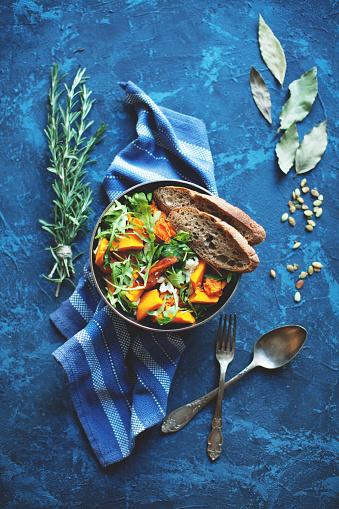 Vegetarian Food「Pumpkin salad」:スマホ壁紙(19)