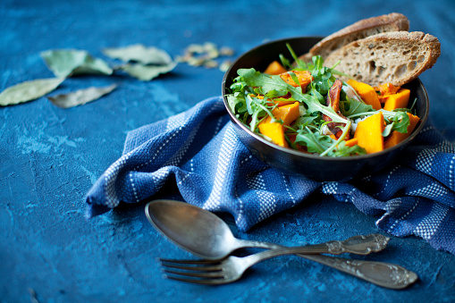 Vegetarian Food「Pumpkin salad」:スマホ壁紙(0)