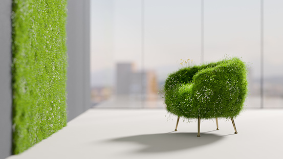 Ecosystem「Relaxing green chair」:スマホ壁紙(5)