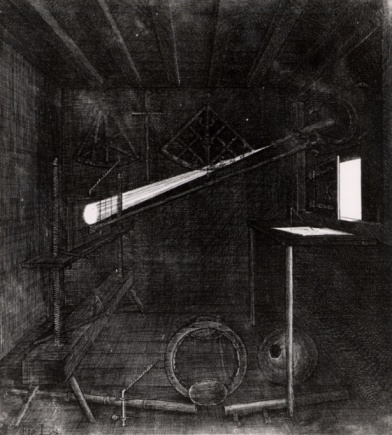 黒点「Camera obscura used to observe sunspots」:スマホ壁紙(17)
