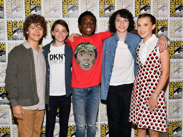 "Comic-Con International 2017 - Netflix's ""Stranger Things"" Press line:ニュース(壁紙.com)"