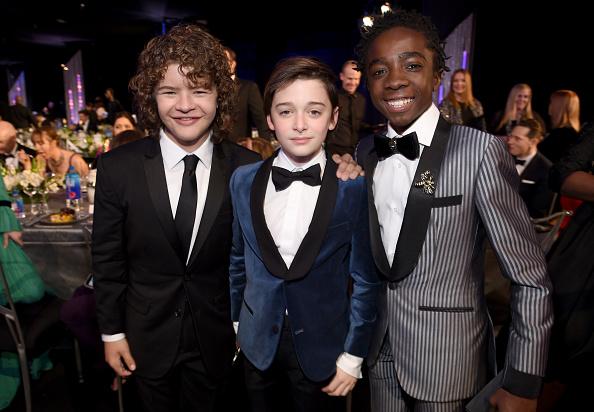 Noah Schnapp「23rd Annual Screen Actors Guild Awards - Cocktail Reception」:写真・画像(2)[壁紙.com]
