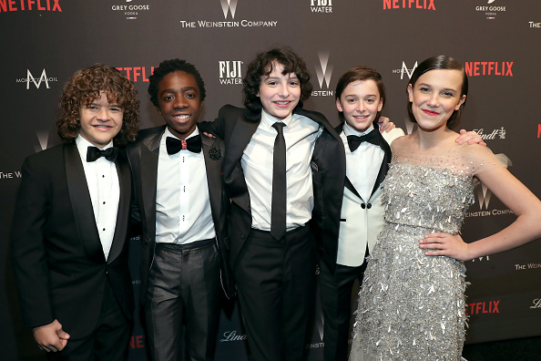 Noah Schnapp「The Weinstein Company And Netflix Golden Globes Party Presented With FIJI Water」:写真・画像(11)[壁紙.com]