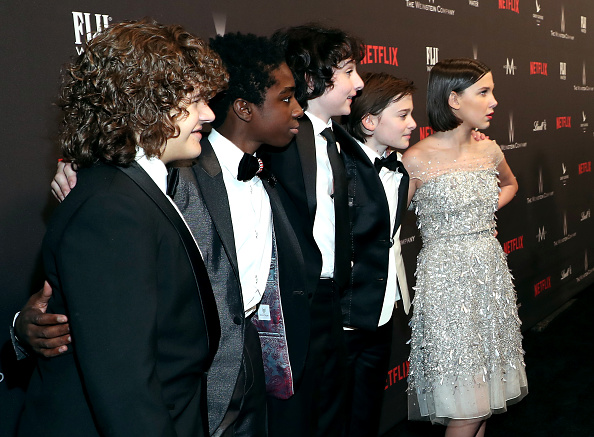 Noah Schnapp「The Weinstein Company And Netflix Golden Globes Party Presented With FIJI Water」:写真・画像(4)[壁紙.com]