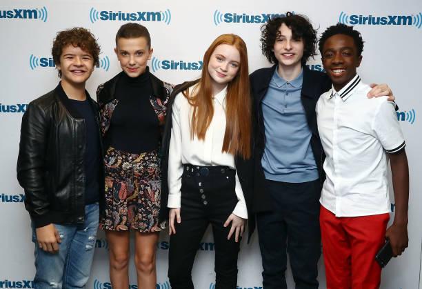 エンタメ総合「SiriusXM's 'Town Hall' With The Cast Of Stranger Things; Town Hall To Air On SiriusXM's Entertainment Weekly Radio」:写真・画像(3)[壁紙.com]