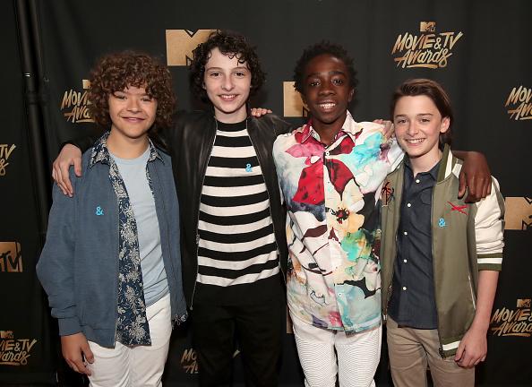 Noah Schnapp「2017 MTV Movie And TV Awards - Red Carpet」:写真・画像(5)[壁紙.com]