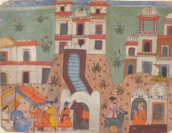 Metropolitan Museum Of Art - New York City「A Raja Receives Homage Outside The City...」:写真・画像(5)[壁紙.com]
