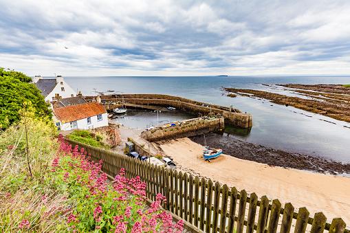 Fishing Village「Scotland, Fife, Fishing haven of Crail」:スマホ壁紙(19)