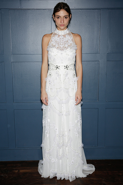 Halter Top「Fall 2015 Bridal Collection - Temperley London - Presentation」:写真・画像(16)[壁紙.com]