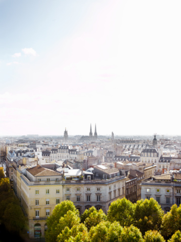 Nouvelle-Aquitaine「roof tops in Bordeaux with city view 」:スマホ壁紙(0)