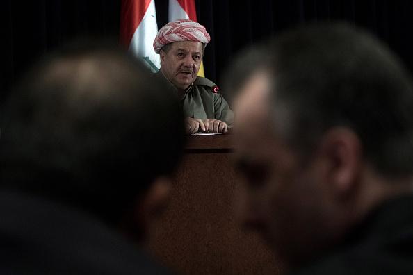 Massoud Barzani「Preparations Continue for the Iraqi Kurdistan Independence Referendum」:写真・画像(1)[壁紙.com]
