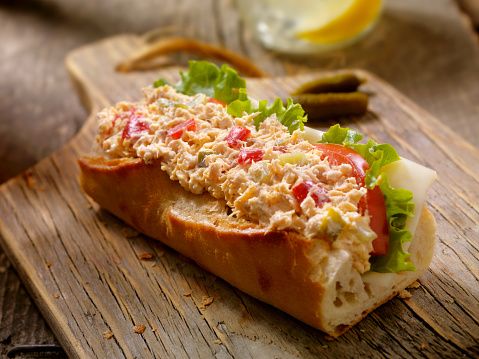Lemon Soda「Tuna Salad Sandwich on a baguette」:スマホ壁紙(13)