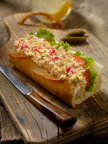Lemon Soda「Tuna Salad Sandwich on a baguette」:スマホ壁紙(12)