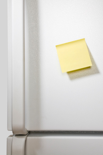 Adhesive Note「Message on refrigerator」:スマホ壁紙(12)
