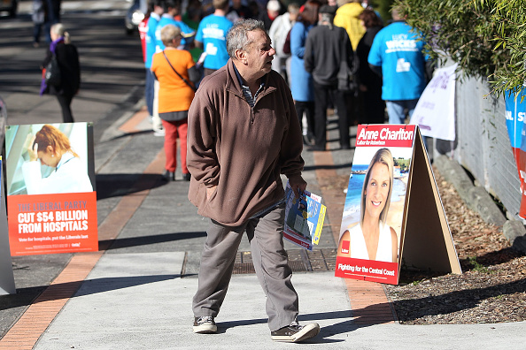 Tony Feder「Australians Head To The Polls To Vote In 2016 Federal Election」:写真・画像(0)[壁紙.com]