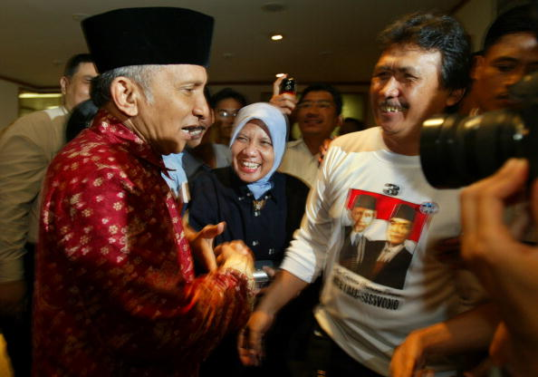 Public Speaker「Amien Rais Campaigns In Jakarta」:写真・画像(12)[壁紙.com]