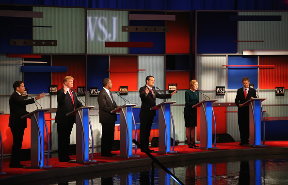 US Republican Party 2016 Presidential Candidate「GOP Presidential Candidates Debate In Milwaukee」:写真・画像(10)[壁紙.com]