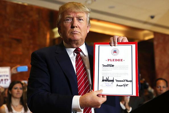 Domination「Donald Trump Holds Media Availability In New York City」:写真・画像(14)[壁紙.com]