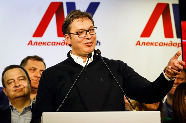 Serbia「Serbians Vote In Presidential Election」:写真・画像(19)[壁紙.com]