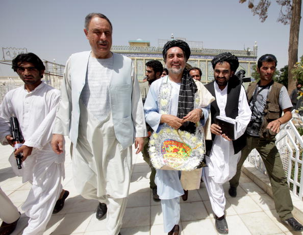Kabul「Presidential Candidates Campaign Ahead Of Afghan Election」:写真・画像(16)[壁紙.com]