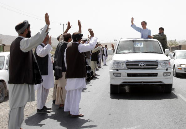 Kabul「Presidential Candidates Campaign Ahead Of Afghan Election」:写真・画像(14)[壁紙.com]