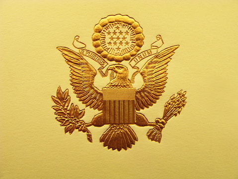 Animal Wing「Presidential Seal President USA Coat Of Arms」:スマホ壁紙(19)