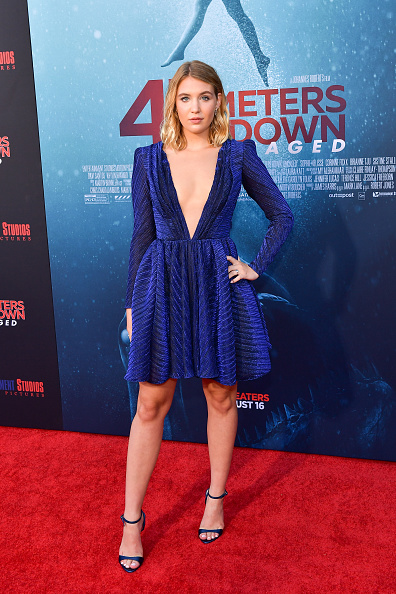 "Blue Shoe「LA Premiere Of Entertainment Studios' ""47 Meters Down Uncaged"" - Arrivals」:写真・画像(1)[壁紙.com]"