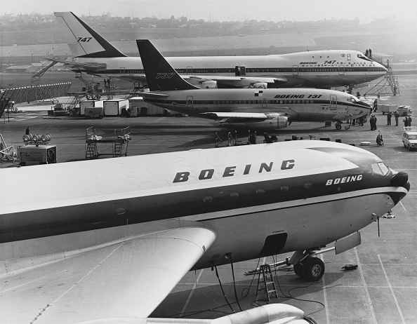 Business Finance and Industry「The Boeing 367-80 N70700」:写真・画像(2)[壁紙.com]