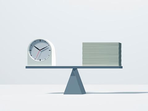 Clock Face「A balance of money and clock」:スマホ壁紙(18)