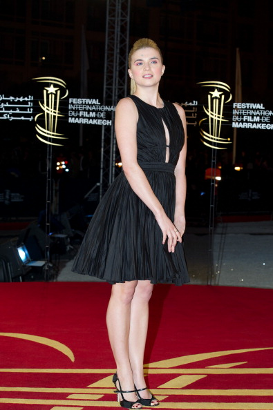 "Keyhole Neckline「Marrakech International Film Festival 2011 - ""When The Night"" Photocall」:写真・画像(17)[壁紙.com]"