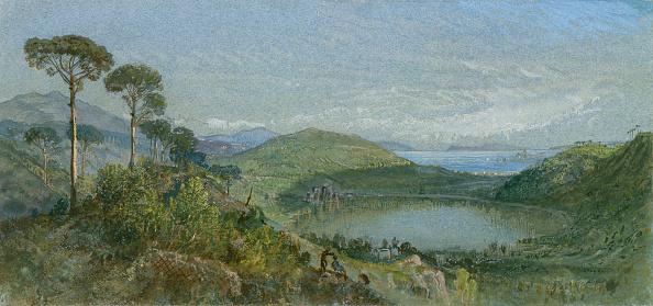 Volcanic Landscape「Lago Avernus」:写真・画像(2)[壁紙.com]