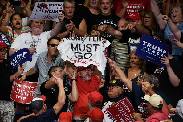 オハイオ州「President Trump Holds Rally In Youngstown, Ohio」:写真・画像(17)[壁紙.com]