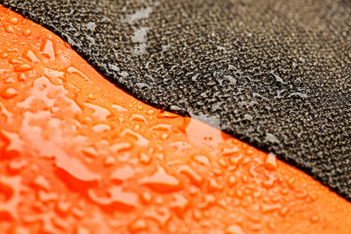 Fiber「Waterproof textile after rain - covered with water drops」:スマホ壁紙(8)