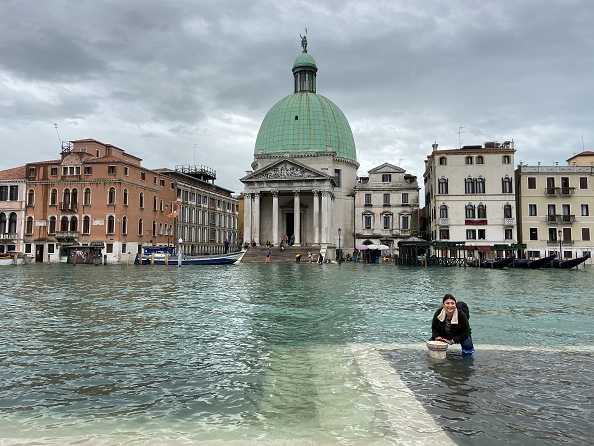 Venice - Italy「Venice Is Struck By High Water Floods」:写真・画像(1)[壁紙.com]