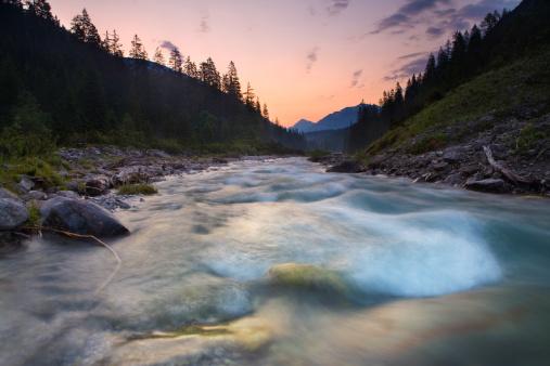 Lech River「before sunset」:スマホ壁紙(14)