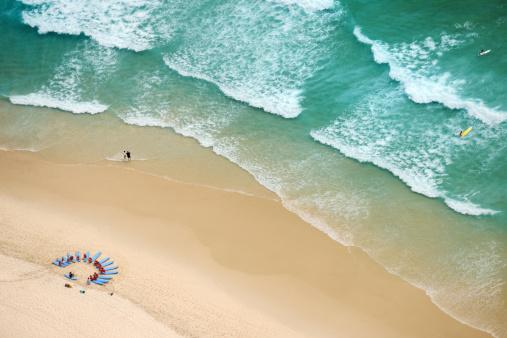 サーフィン「サーフスクールでは、サーファーのパラダイス、ゴールドコーストは、オーストラリア(XXXL」:スマホ壁紙(18)