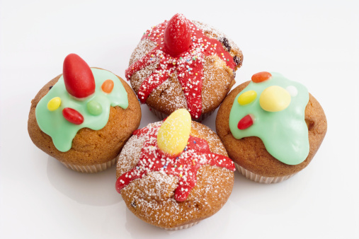 Easter Cake「Easter muffins with sugar icing」:スマホ壁紙(4)