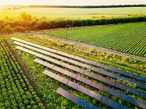 発展「ファームの太陽電池電源」:スマホ壁紙(17)