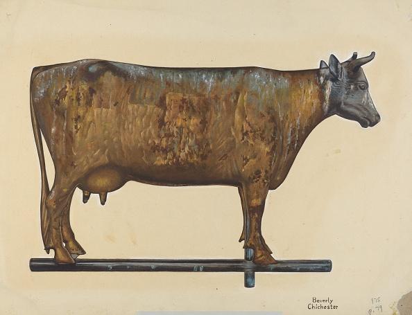 Animal Body Part「Cow Weather Vane」:写真・画像(4)[壁紙.com]