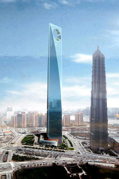 skyscraper「Shanghai Building Vies To Be World's Tallest」:写真・画像(18)[壁紙.com]