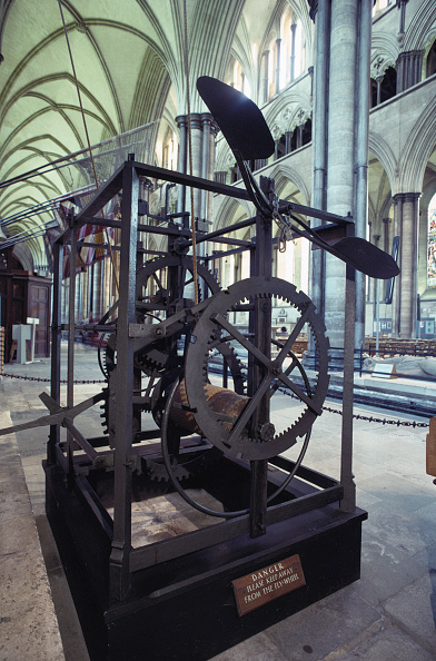 Salisbury Cathedral「Salisbury Cathedral Clock」:写真・画像(7)[壁紙.com]