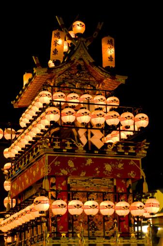 日本の祭り「Takayama festival」:スマホ壁紙(4)