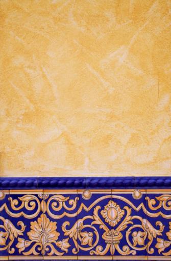 Spanish Culture「Tile decorated wall」:スマホ壁紙(14)