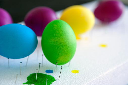 イースター「Dyed Easter eggs」:スマホ壁紙(3)