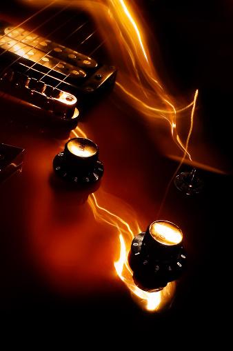 Rock Music「guitar」:スマホ壁紙(8)