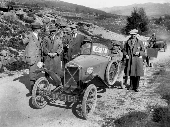 Auto Racing「Salmson open sports 2-seater of Armand Bovier at the Scottish Light Car Trial, 1922」:写真・画像(2)[壁紙.com]