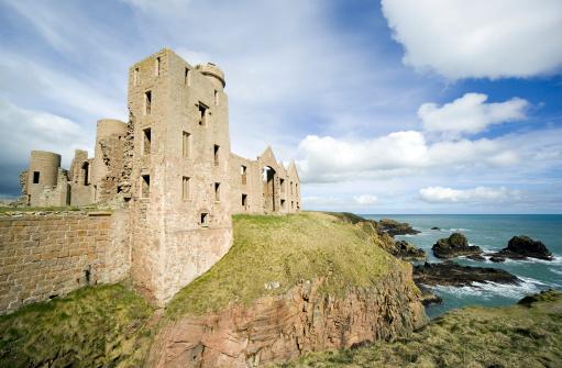 Castle「Slains Castle Scotland wide angle」:スマホ壁紙(0)