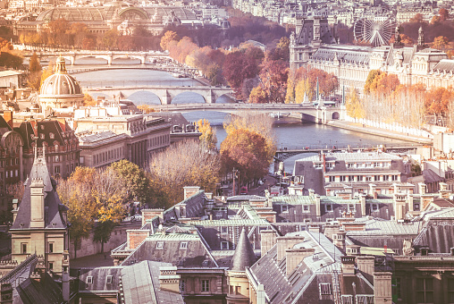 France「The architecture of Paris France」:スマホ壁紙(14)